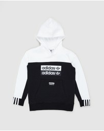 adidas Originals - Colourblock Hoodie - Teens