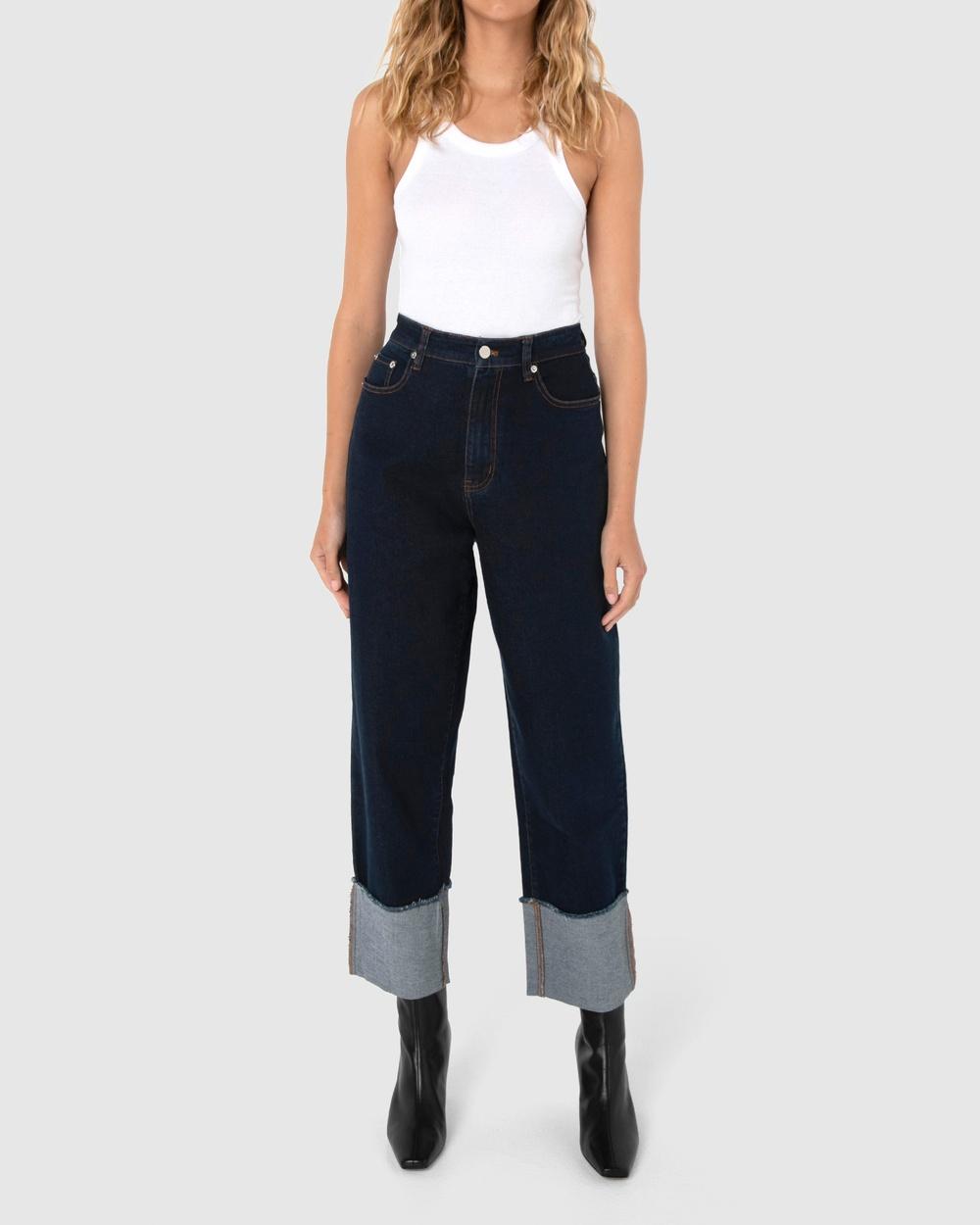 Madison The Label Harris Jeans High-Waisted Denim Australia