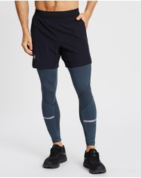 Under Armour - Rush Graphic Leggings - Men's