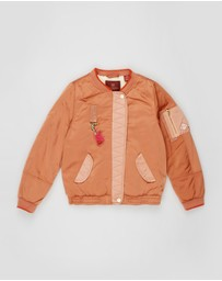 Scotch R'belle - Satin Bomber Jacket - Teens