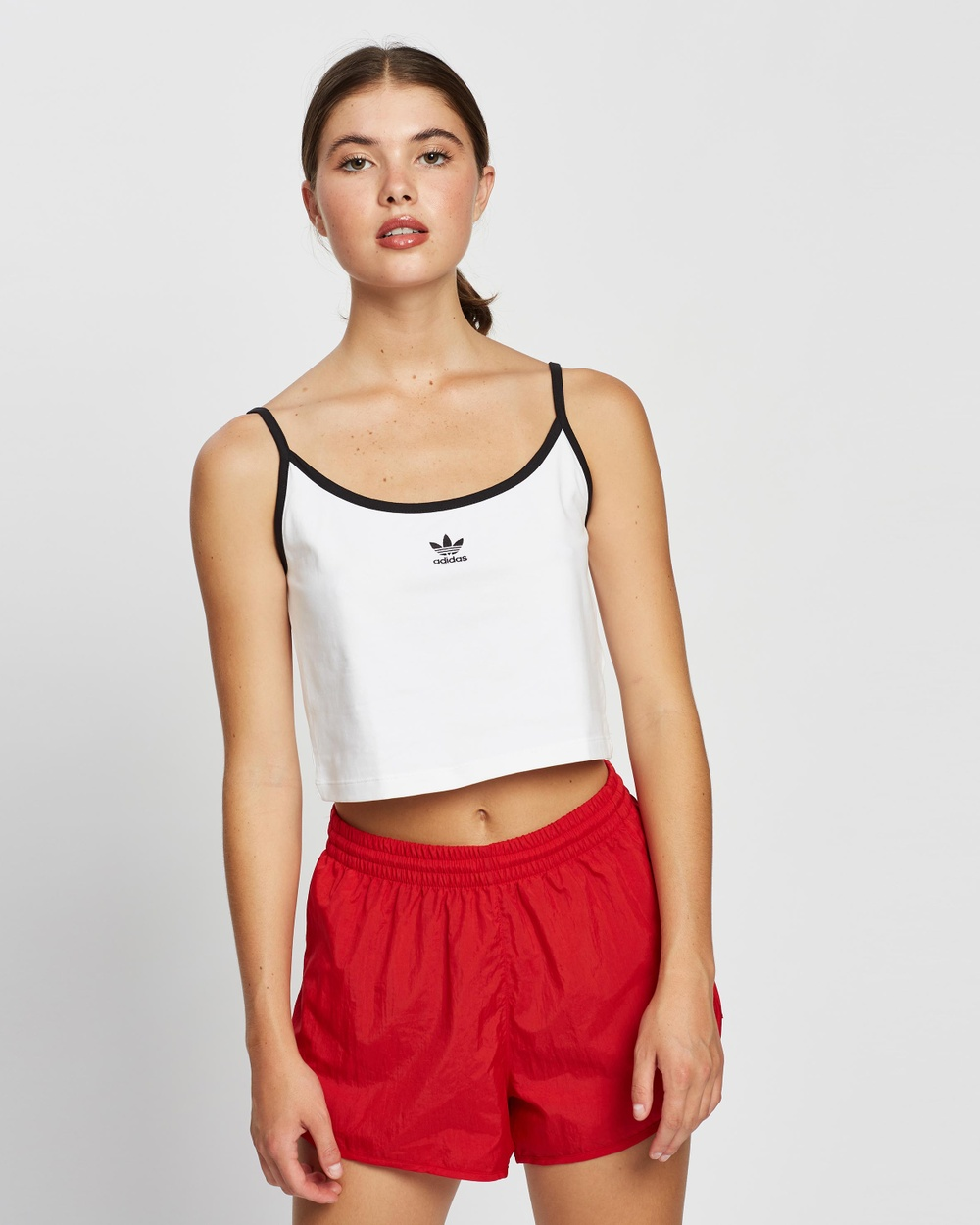 adidas Originals - Tank - Cropped tops (White & Black) Tank