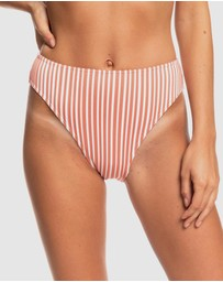 Roxy - Womens Sandy Treasure High Leg Separate Bikini Pant