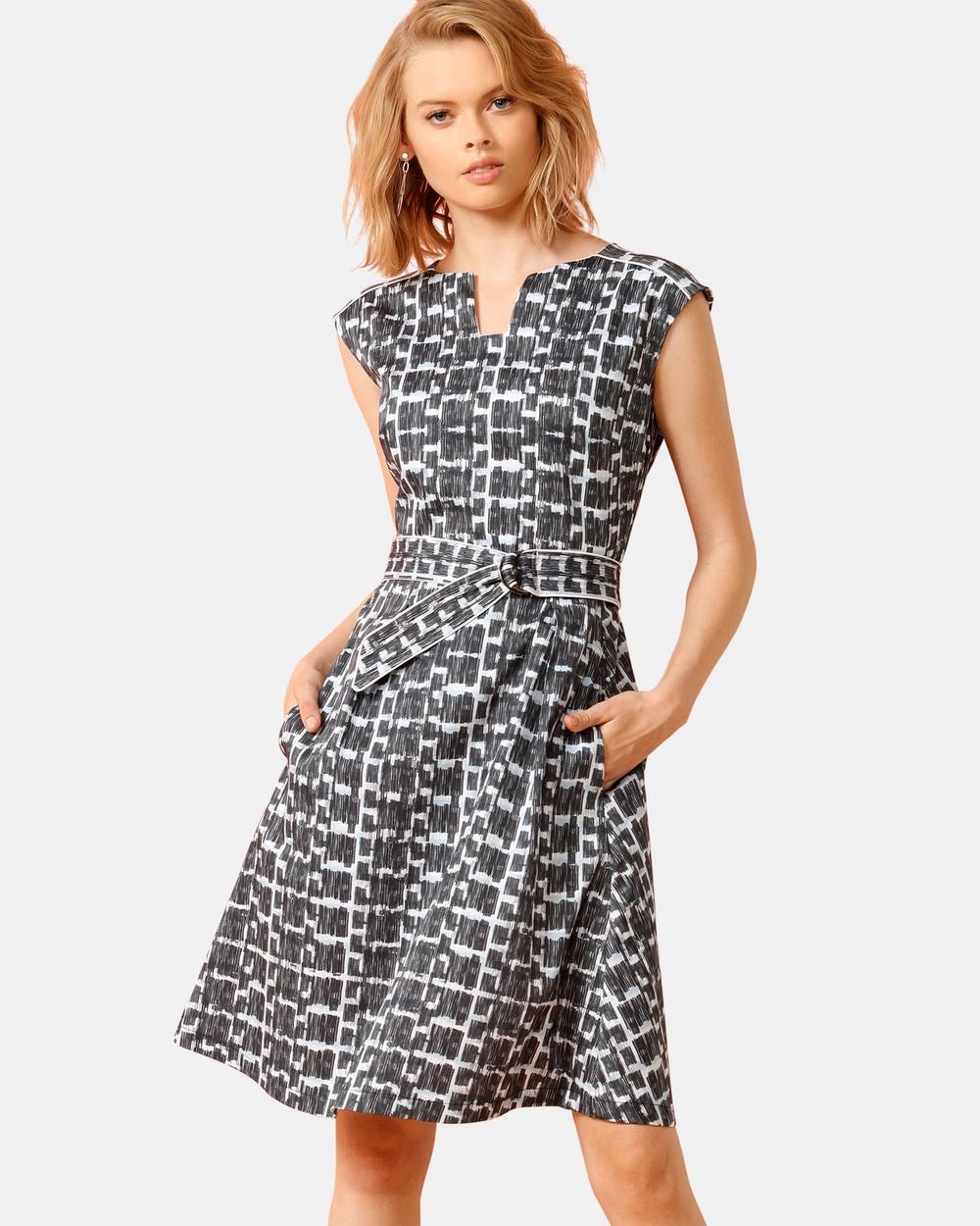SACHA DRAKE Blue Olmstead Dress