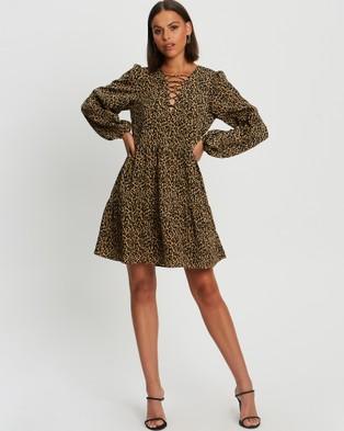 BWLDR Faithful Dress - Dresses (Leopard)