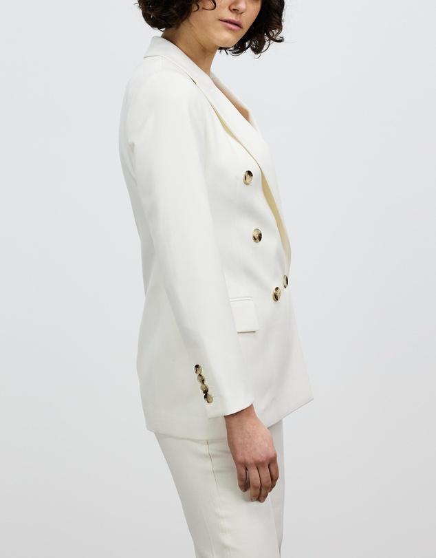 Women Austen Wool Blend Double-Breasted Blazer