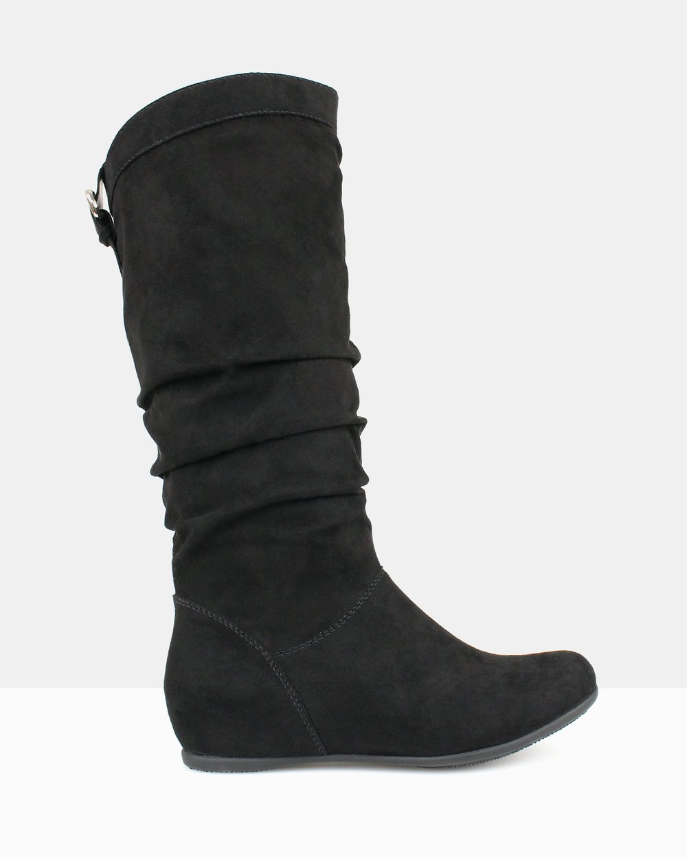 6932d7dec59 Oxley Ruched Knee-High Boots by Betts Online