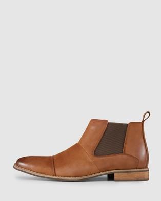 AQ by Aquila Ortiz Chelsea Boots - Boots (Tan)