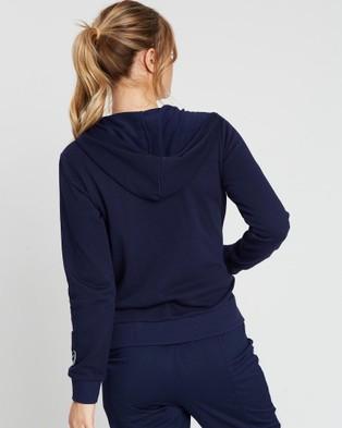 ASICS French Terry Hoodie   Women's - Coats & Jackets (Peacoat)