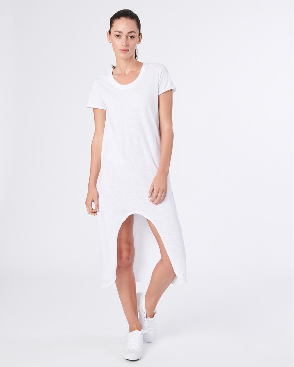jac + mooki Maisie Dress Dresses white Maisie Dress