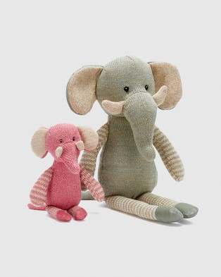 Nana Huchy ICONIC EXCLUSIVE   Elliot The Elephant - Accessories (Green)