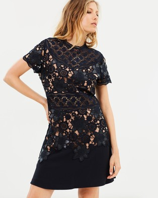 The Kooples – Fit & Flare Lace Dress