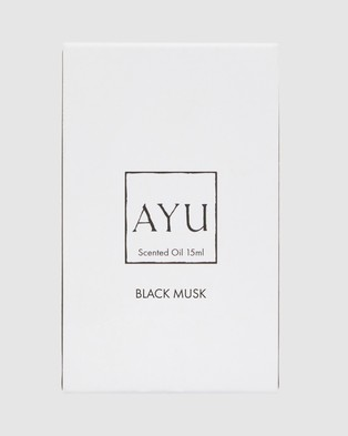 AYU BLACK MUSK Perfume Oil 15ml Beauty N/A