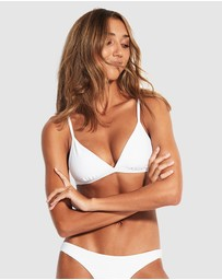 Seafolly - Essentials Fixed Tri Bra Bikini Top