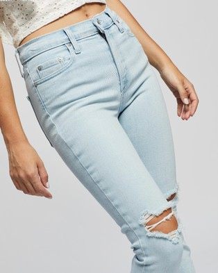 Nobody Denim Petite Petite Cult Skinny Ankle Jeans - High-Waisted (Whispering)
