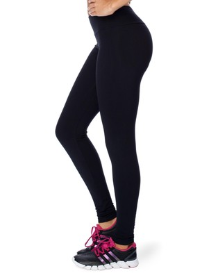 Brasilfit Full Length Supplex Leggings - Full Tights (Black)