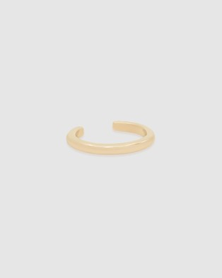 By Charlotte 14k Gold Twilight Ear Cuff   Single - Jewellery (14k Solid Gold Single Earring)