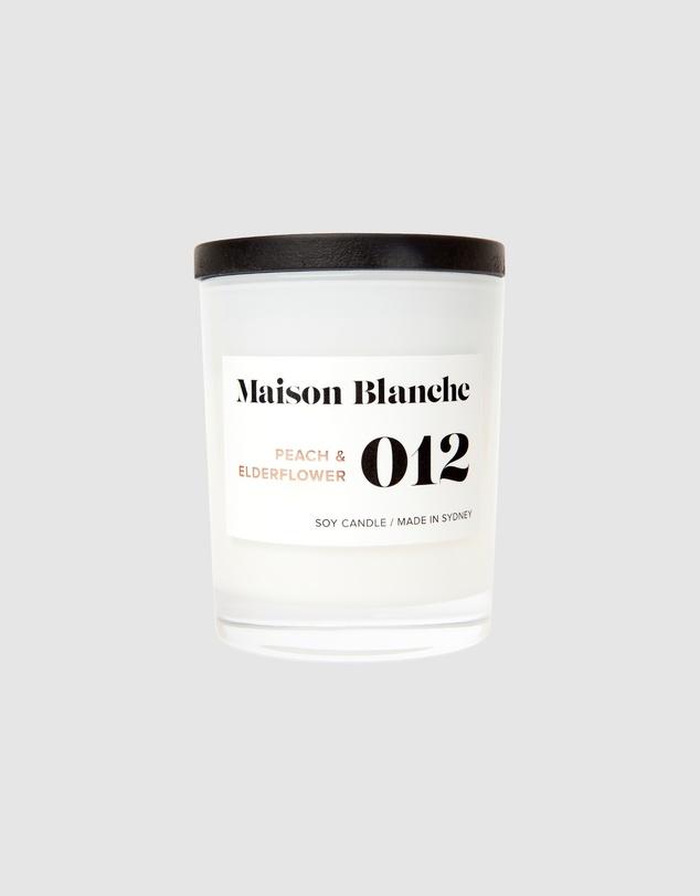 Life 012 Peach & Elderflower - Medium Candle