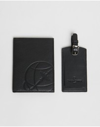 Simon Carter - Passport Holder & Luggage Tag Set