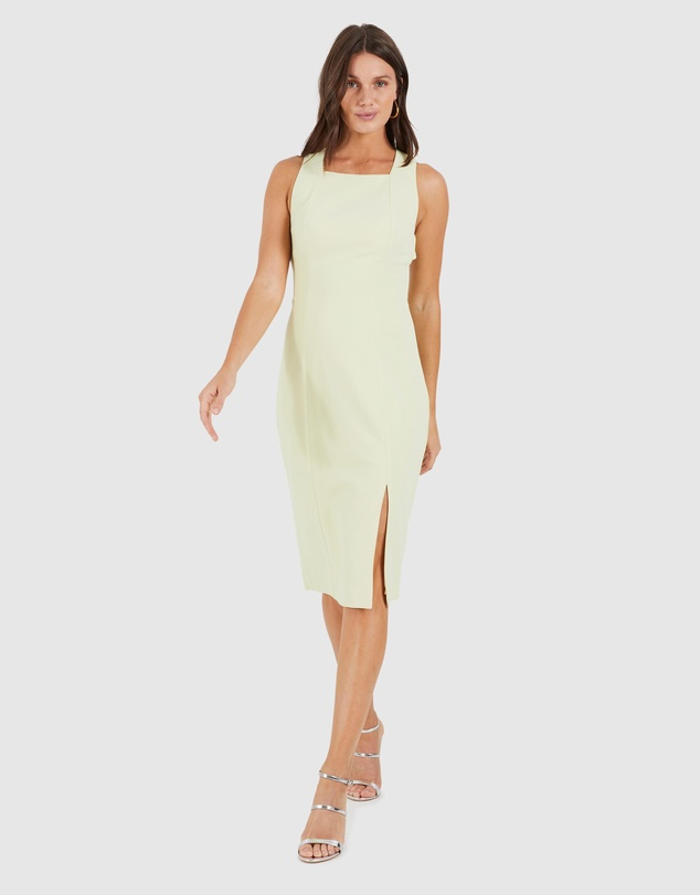Cooper St - Singer Cross Back Fitted Dress