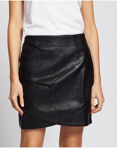 Wish The Label Como Skirt Black