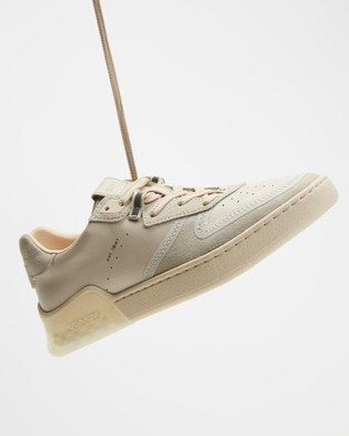 Coach Citysole Suede Court Sneakers - Sneakers (Chalk)