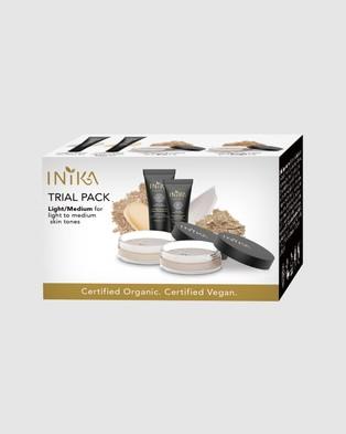 Inika Organic Inika Trial Kit   Light Medium - Beauty (NSKT0031)