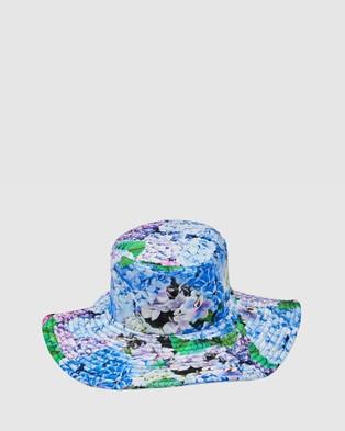 Aqua Blu Kids Blossom Lycra Hat Hats Blossom