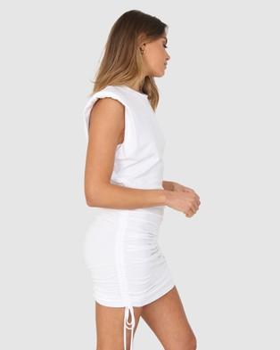 BY.DYLN Miles Dress - Dresses (White)
