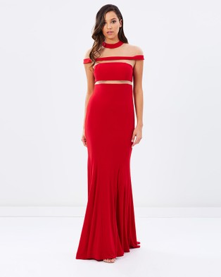 Grace & Hart – Muse Gown Red