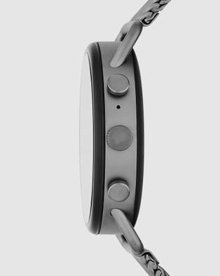 Skagen Falster 3 Gunmetal Smartwatch - Smart Watches (Grey)