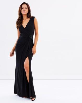 Montique – Mackenzie Sequin Gown – Bridesmaid Dresses (Black)