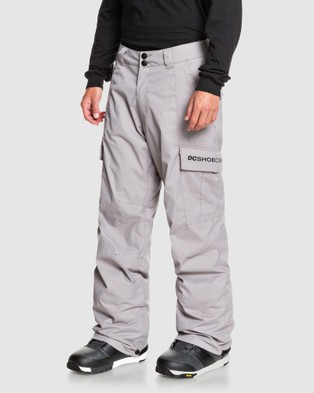 DC Shoes Mens Banshee Snow Pant - Pants (FROST GRAY)