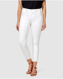 Jeanswest - Anika Mid Waisted Skinny Ankle