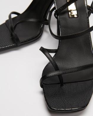 Billini Briar - Heels (Black Croc)