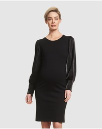 Soon Maternity - Louise Long Sleeve Dress