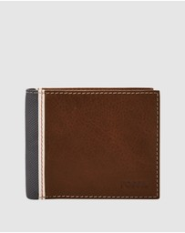 Fossil - Elgin Cognac Card Case