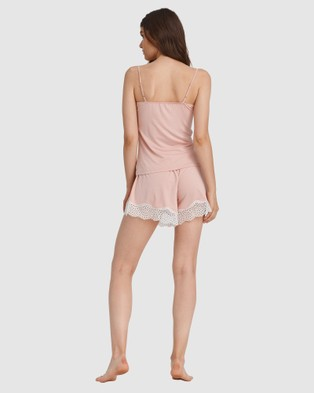 Oh!Zuza Cami Pyjama Set - Two-piece sets (Dusty Pink)