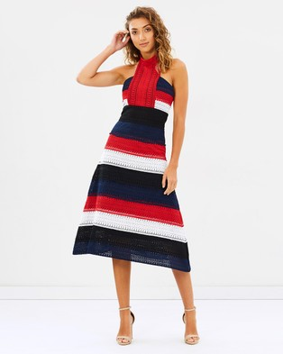 Mossman – The Patriot Midi Dress