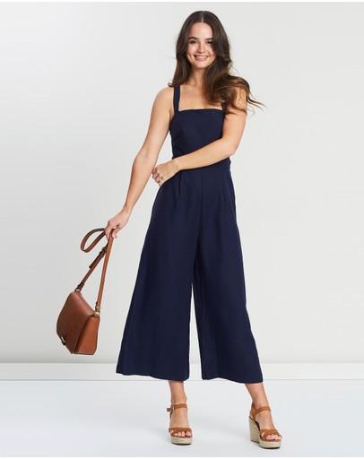 4e573fd141de Blue Jumpsuit