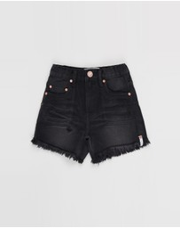 ONETEASPOON - Mr Blacks Relaxed Denim Short - Teens
