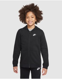 Nike - Sportswear Club Full-Zip Hoodie - Teens