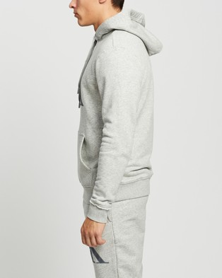 Calvin Klein LS Hoodie - Hoodies (Grey Heather)
