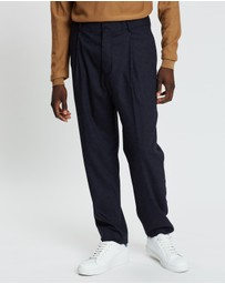 Band of Outsiders - Tapered Single Pleat Trousers