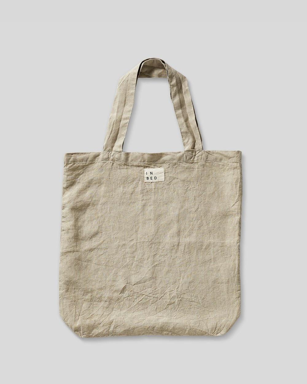 IN BED Linen Market Bag Bags Natural Australia