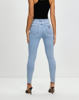 Abrand A High Skinny Ankle Basher Jeans Crop Walk Away
