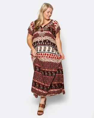 Adrift – Bahamas Dress – Dresses (Red)