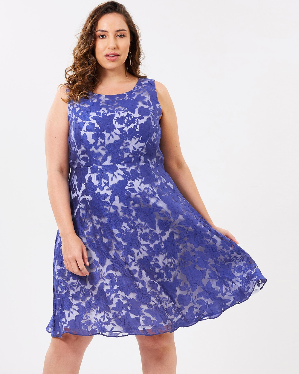 Studio 8 Kew Dress Dresses Cobalt Ivory Kew Dress
