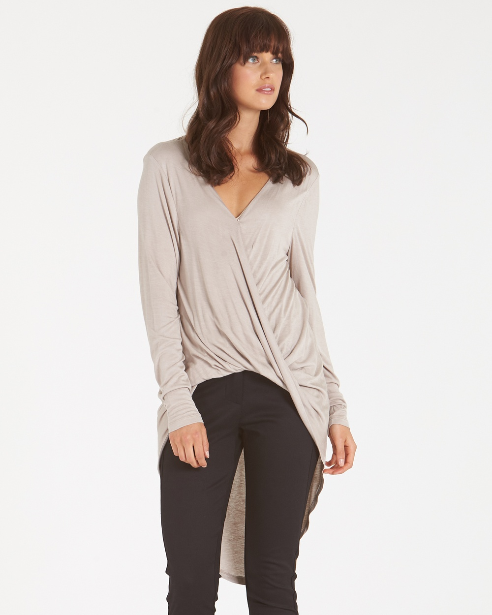 Amelius Shayla Jersey Top Tops Nude Shayla Jersey Top