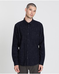 Vince - Crosshatch Long Sleeve Shirt