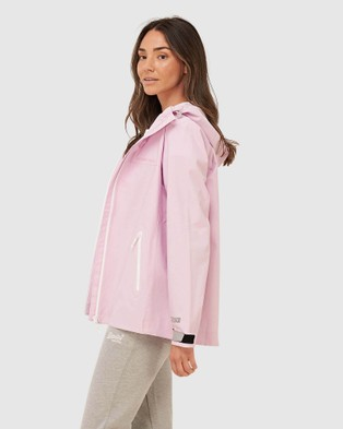 Superdry  Hydrotech Harpa Waterproof Jacket - Coats & Jackets (Winsome Orchid)